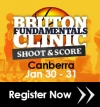Bruton Fundamentals Clinic - Shoot & Score - Canberra Jan 30-31